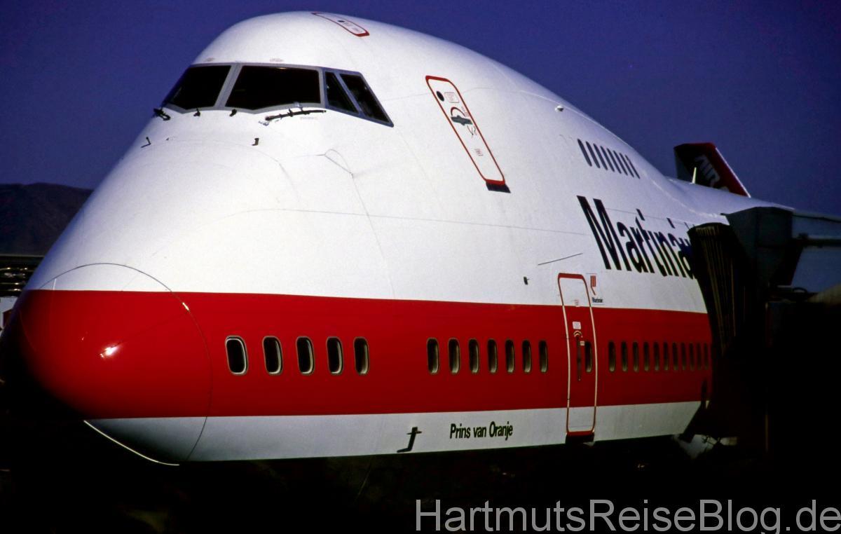 Martinair ab Amsterdam